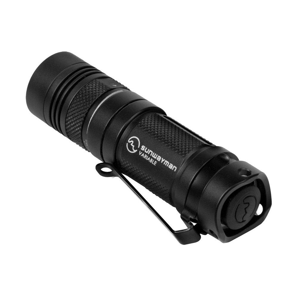 Sunwayman Taschenlampe, schwarz, 8 x 2.5 x 2.5 cm, V11R U2  Überprüfung und Beschreibung