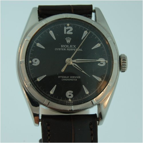 Buy Vintage/Antique watch: Rolex Big Bubble Back, Ref# 6085, 1950s