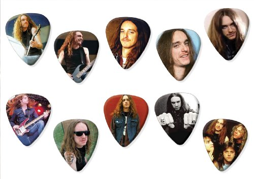 Cliff Burton Metallica (Limited To 100) Set Of 10 Loose Chitarra Pick Plettro Plettri...