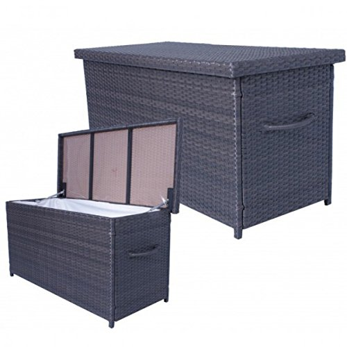 auflagenbox athen rattan kissenbox gartenbox gartenm bel auflagen truhe innenfolie neu g nstig. Black Bedroom Furniture Sets. Home Design Ideas