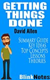img - for Getting Things Done: The Art of Stress-Free Productivity: By David Allen Master GTD | Book Summary Guide book / textbook / text book
