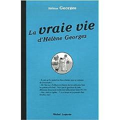 couverture de la vraie vie d'Hélène Georges