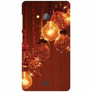 Printland Microsoft Lumia 540 Dual SIM Back Cover High Quality Designer Case