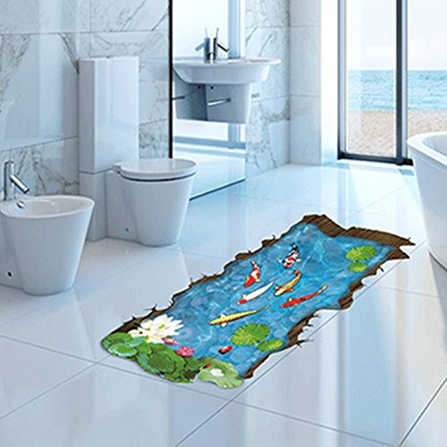 zpl-pumi-3d-simulation-of-small-fish-stickers-wall-stickers-pvc-the-pool-floor-tile-stickers-for-bed