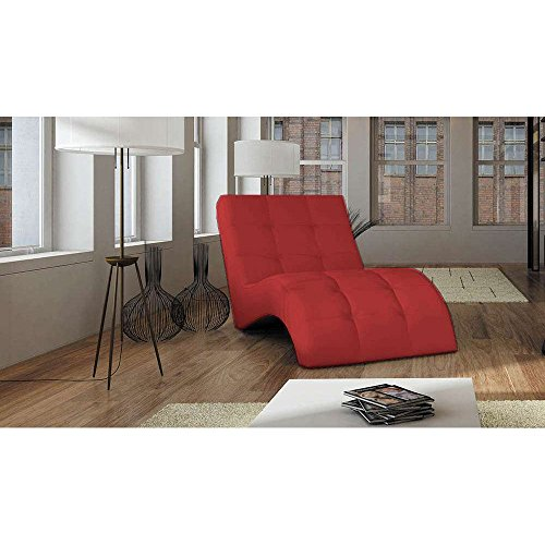 JUSThome-LAGUNA-Liege-Relaxliege-Loungesessel-Ecoleder-BxLxH-76x170x83-Rot