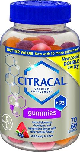 Citracal Calcium Gummies, 70 Count