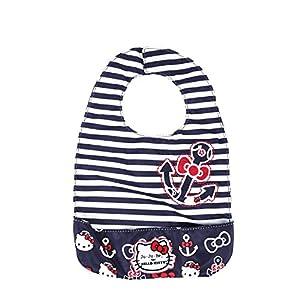 Ju-Ju-Be Be Neat Reversible Baby Bib, Hello Kitty Out to Sea from Ju-Ju-Be