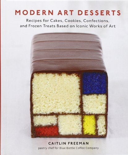 Modern Art Desserts: Recipes for Cakes, Cookies, Confections, and Frozen Treats Based on Iconic Works of Art (Books On Baking Soda compare prices)