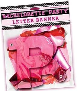 Bachelorette Party Letter Banner from Thavornshop