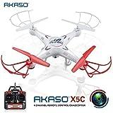 Akaso X5C 2.4G - Dron Quadcopter de 6 Ejes con Control Remoto y Cámara HD