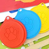 iDealhere Dosendeckel Deckel Für Hundefutter Katzen Nassfutter, ø 88mm , 2 St. , Zufällig Farbe