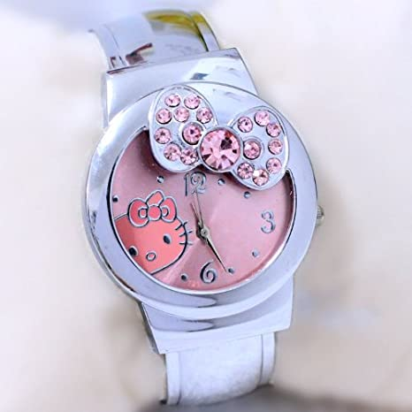 Rhinestone Hello Kitty Girls Watch