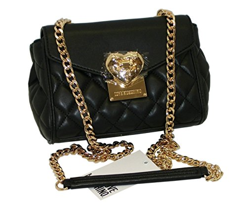 Borsa Love Moschino SHOULDER MINI BAG JC4001 NAPPA PU NERO