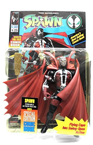 Spawn: Flying Cape has Swing-Open Action