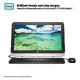 HP 22-3010 FHD 21.5 Inch All-in-One Desktop (AMD E1 6015, 4 GB RAM, 1 TB HDD, AMD Radeon R2 Graphics)