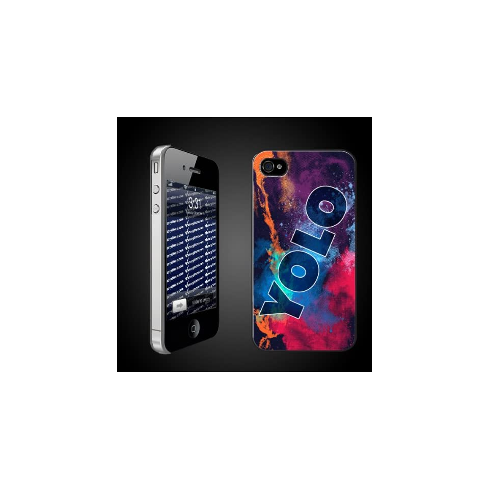 Fun YOLO iPhone Hard Case Designs   You Only Live Once/YOLO Color