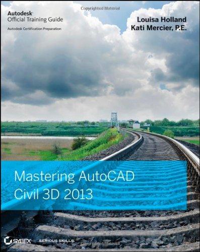 Mastering AutoCAD Civil 3D 2013 1118281756 pdf