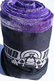 Wrist Strength Wraps for Weightlifting - Excellent for Crossfit and Olympic Weightlifting - Black and Purple