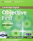 Objective First 3rd Student's Book with Answers with CD-ROM