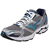 Mizuno Women's Wave Rider 13 Running Shoe,Charcoal/Diva Blue/Blue Depths,8.5 B