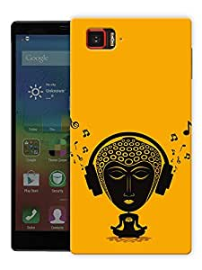 "Tripping Buddha - Buddhist God Printed Designer Mobile Back Cover For ""Lenovo Vibe Z2 Pro K920"" By Humor Gang (3D, Matte Finish, Premium Quality, Protective Snap On Slim Hard Phone Case, Multi Color)"
