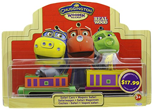 Chuggington Wooden Railway Safari Cars