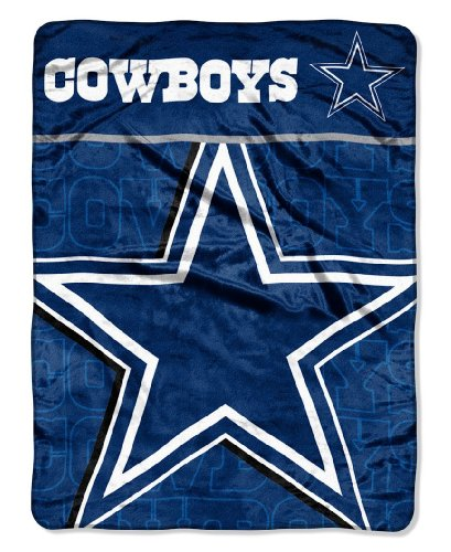 Review for NFL Dallas Cowboys Micro Raschel Throw Blanket, 46 x 60-Inch