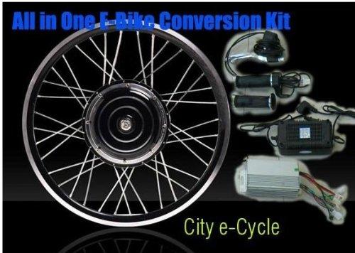 Disc Brake, 48V 1000W Electric Bike Conversion Kits With Rear Wheel, 48V 1000W E-Bike Conversion Kits With Rear Wheel