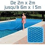Linxor France ® Bâche à bulles sur mesure 300 microns / 39 tailles diponibles / Norme CE
