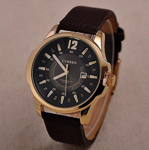 Delite Delite Luxury Brand Curreen Men Military Sports Fashion Quartz Wrist Watch