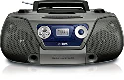 Philips AZ-1852/98 Soudmachine Mp3/CD Player (Silver)