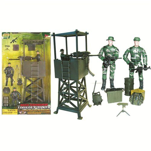 Buy Low Price Power Team World Peacekeepers Lookout Tower Figure (B0006TQD6K)