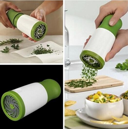 Buy Cheap Drhob 1 pc Herb Mill Chopper Cutter Mince Stainless Steel Blades Safely New ( Color: White...