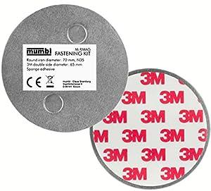 mumbi Magnet Befestigung für Rauchmelder Magnetbefestigung (2tlg.)