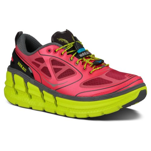 9dba87ea03a282  Detail shop Hoka One One Conquest Running Shoe - Women s Paradise  PinkCastlerockCitrus 8.5.