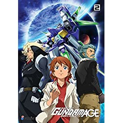 MOBILE SUIT GUNDAM AGE TV SERIES DVD COLLECTION 2