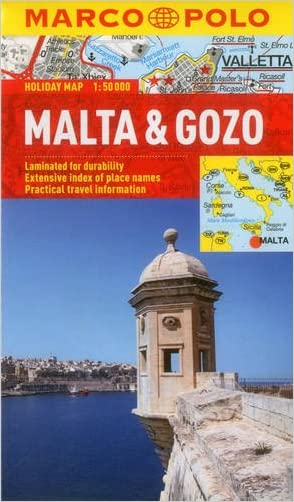 Malta & Gozo Marco Polo Holiday Map (Marco Polo Holiday Maps)