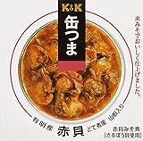 K&K 缶つま 赤貝どて煮風 山椒入り 70g