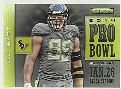 2014 Rookies and Stars Pro Bowl #22 J.J. Watt NM-MT Texans