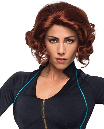 Avengers 2 - Age of Ultron: Black Widow Wig For Adults