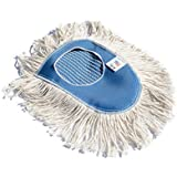 Industrial Strength Cotton Dust Mop Head Cleaning Wedge Refill