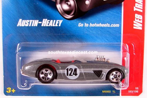 2008 Hot Wheels - Web Trading Cars - Austin Healey