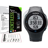 6 x Clear Screen Protectors for Garmin Forerunner 610 - Anti-Scratch LCD Guards / Display Savers with LifeTime Replacement Warranty ***Fortress Brand***