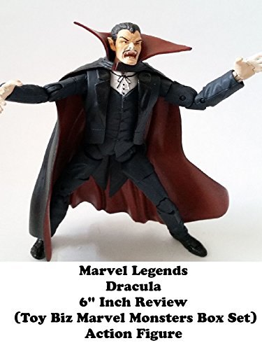 "Marvel Legends DRACULA 6"" inch Review (Toy Biz Marvel Monsters box set) action figure"