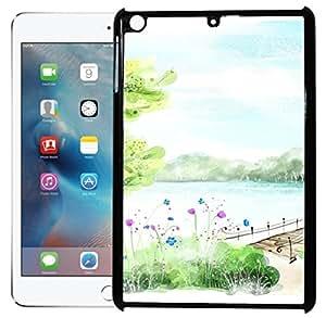 FCS Printed 2D Designer Hard Back Case For Apple iPad Mini Design-10001