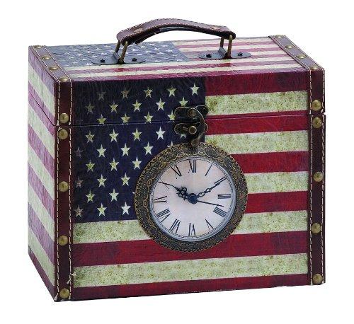 Woodland Imports Clock Storage Box front-527004