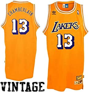 Adidas Los Angeles Lakers Wilt Chamberlain Youth (Sizes 8-20) Soul Swingman Home... by adidas