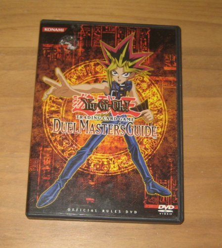 Yu Gi Uh Trading Card Game Duel Master's Guide Official Rules DVD - 1