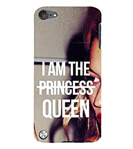 99Sublimation Princess Girl and Queen 3D Hard Polycarbonate Back Case Cover for Apple iPod Touch 5
