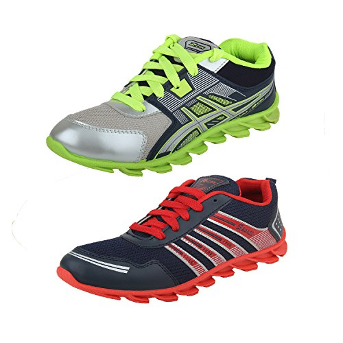 Earton-COMBO-Pack-of-2-Pair-MenBoys-Multicolor-Sports-Shoes-Running-Shoes